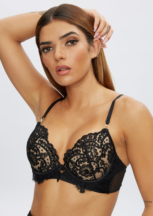 Fiercely Sexy Plunge Bra image number 6.0