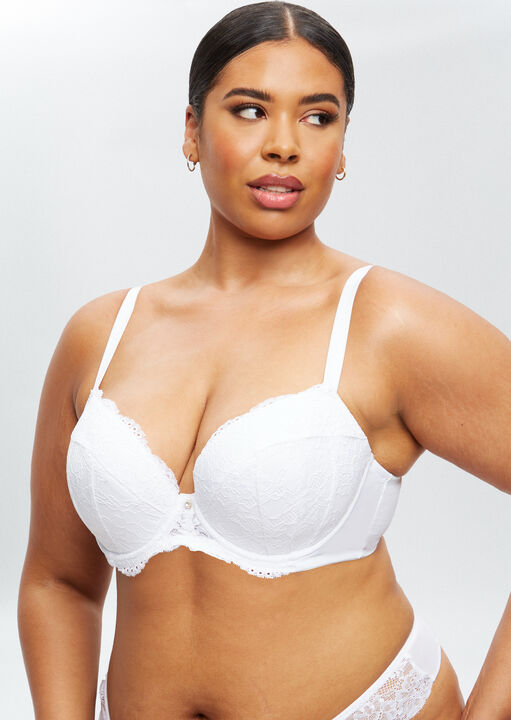 Sexy Lace Sustainable Plunge Bra image number 9.0