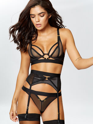 Alina Suspender Belt