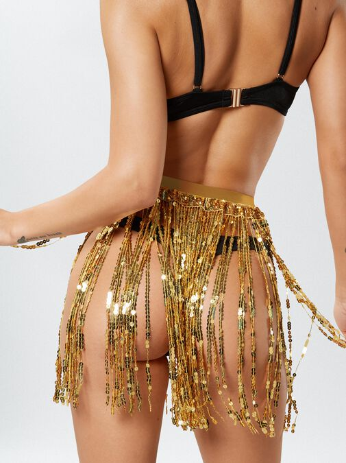 The Dazzling Sequin Skirt image number 1.0