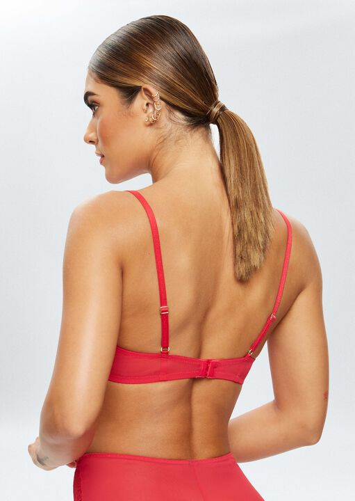 Sexy Lace Sustainable Non Padded Bra image number 1.0