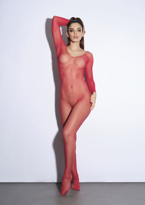 The Ambition Crotchless Bodystocking image number 0.0