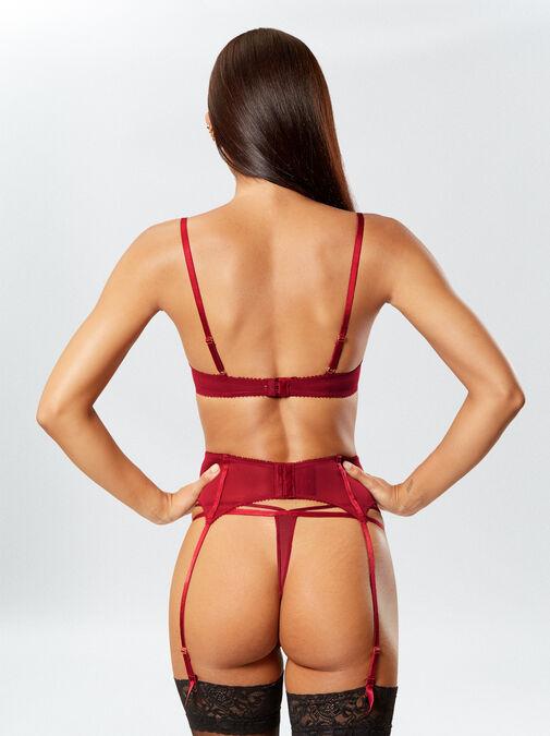 Vivacious Vixen Suspender Belt image number 3.0