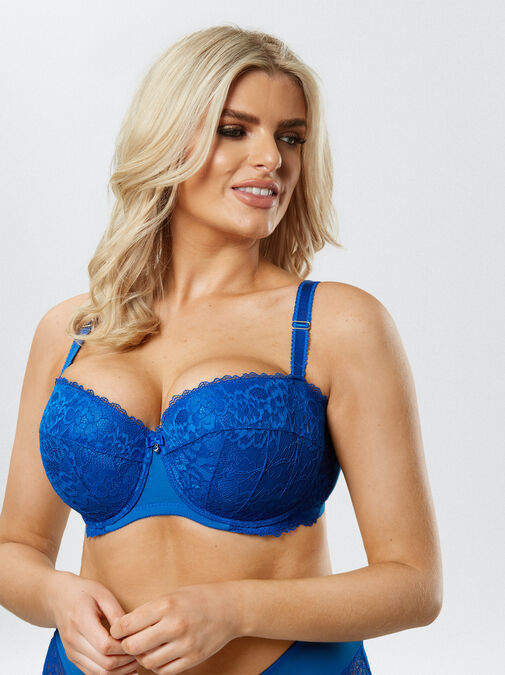 Sexy Lace Balcony Bra image number 1.0