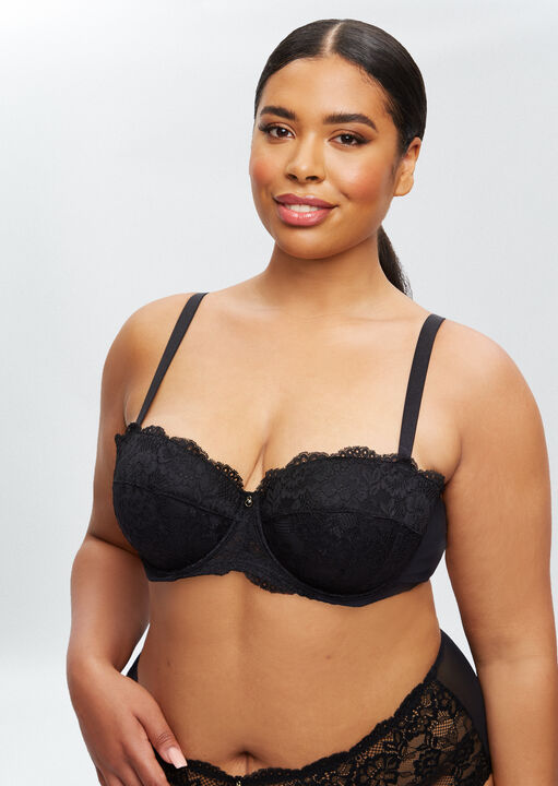 Sexy Lace Sustainable Balcony Bra image number 10.0