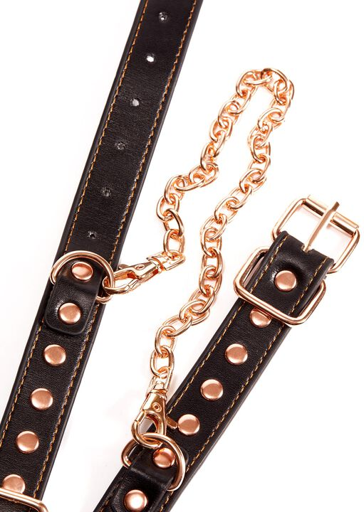 Studded Buckle Handcuffs image number 3.0