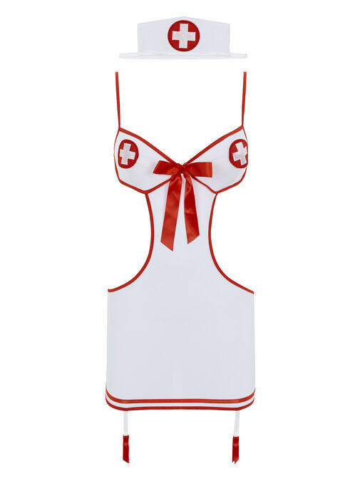Nurse Heart Stopper Fancy Dress Outfit image number 3.0
