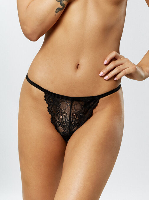 Patrice 3 Pack Crotchless String image number 1.0