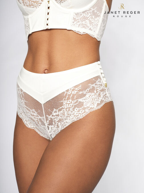 Janet Reger Bride To Be High Waisted Brazilian image number 0.0