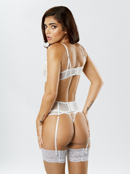 Fiercely Sexy Crotchless Thong  image number 4.0