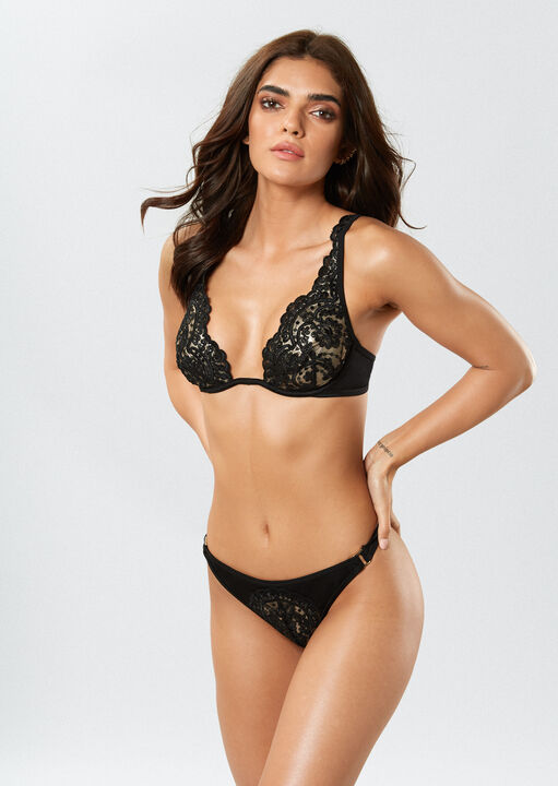 Fiercely Sexy High Apex Bikini Top image number 1.0