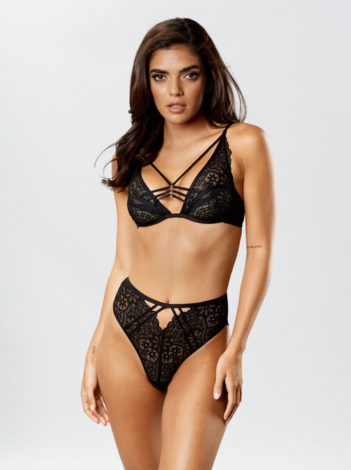 Knickerbox Planet -The Charmer High Waisted Brazilian image number 2.0