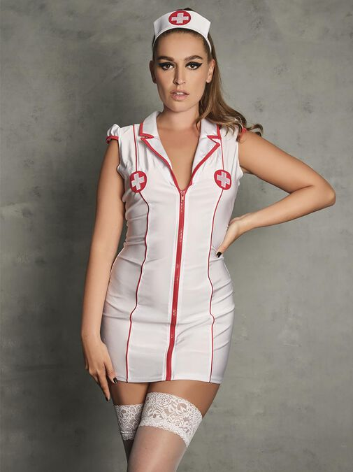 Hospital Hottie Nurse Outfit image number 0.0