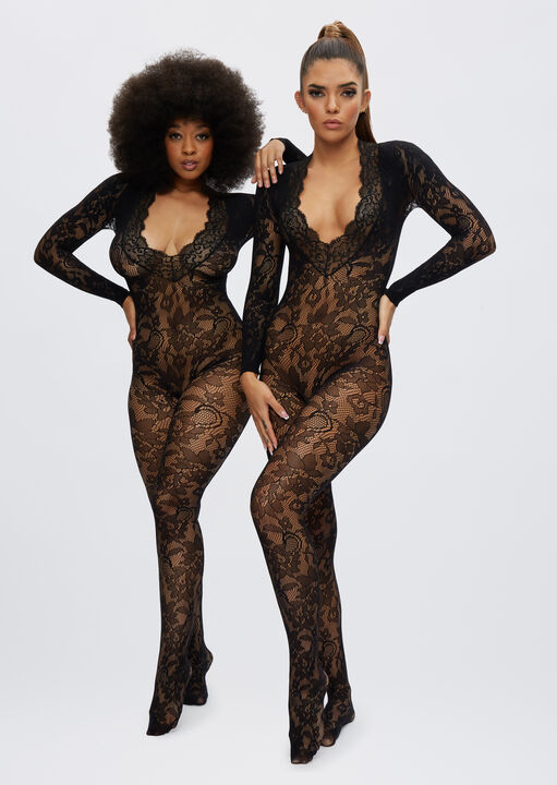 The Supreme Crotchless Bodystocking image number 1.0
