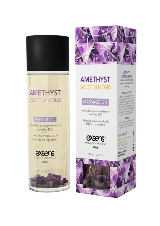 Exsens Amethyst Sweet Almond Massage Oil image number 0.0