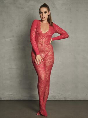 The Supreme Crotchless Bodystocking