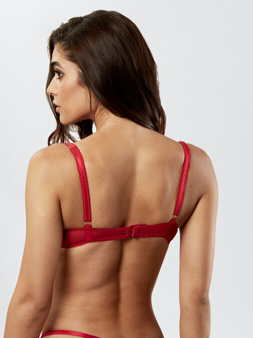 Sexy Lace Push Up Extreme Boost Bra image number 1.0