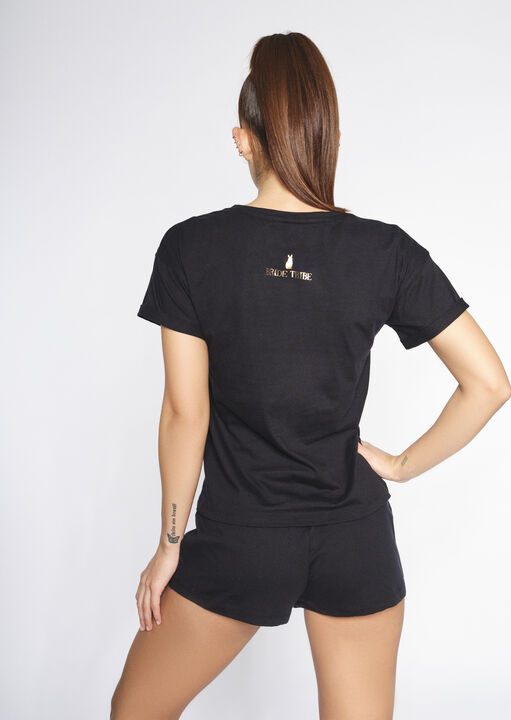 Champagne Tee Cami Set image number 1.0