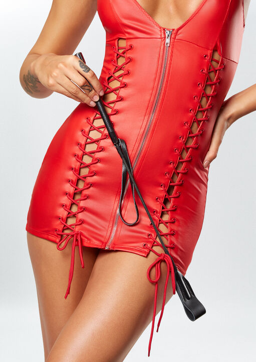Signature Faux Leather Riding Crop image number 0.0