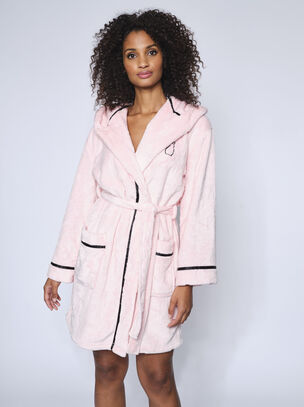 Embossed Bunny Robe