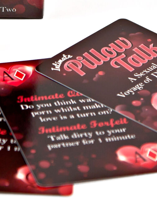 Pillow Talk Card Game image number 2.0