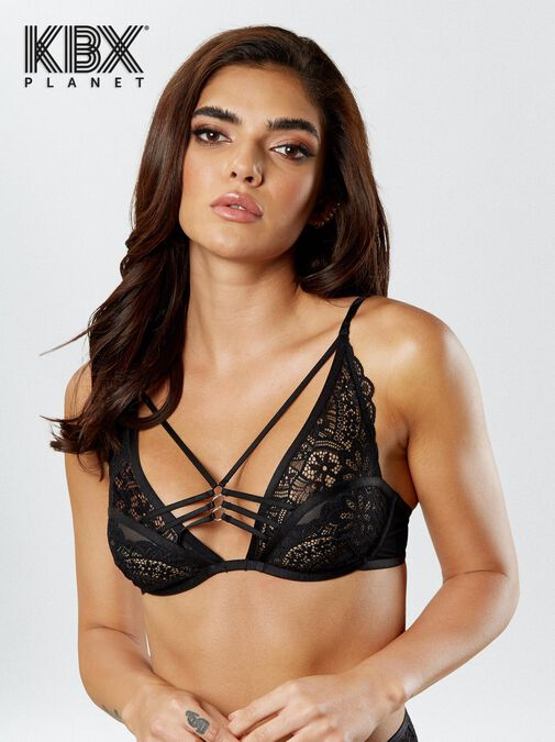 Knickerbox Planet -The Charmer Non Padded Bra image number 3.0