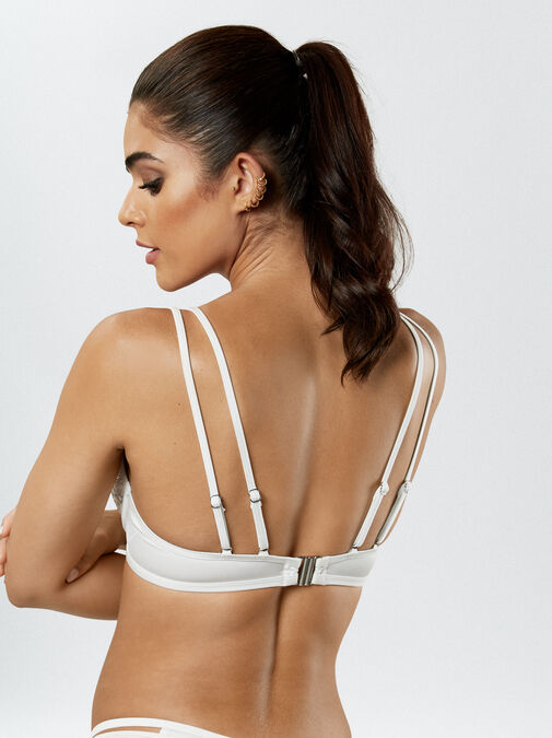 Fiercely Sexy Push Up Plunge Bikini Top image number 3.0