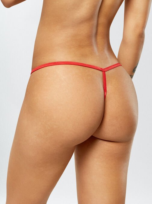 Patrice 3 Pack Crotchless String image number 6.0