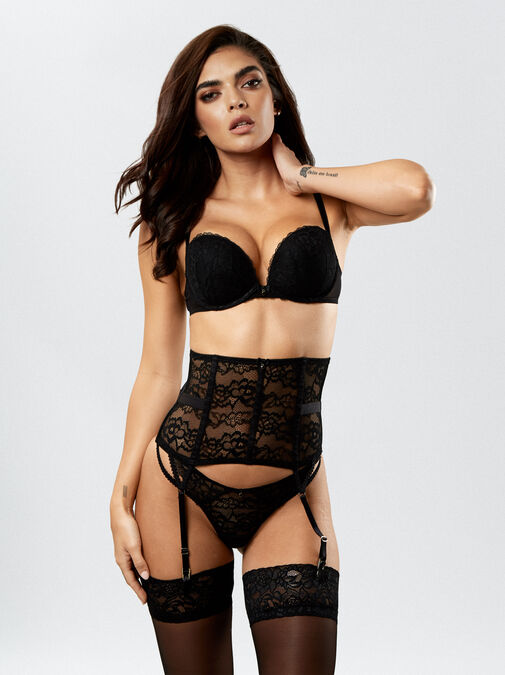 Sexy Lace Waspie image number 2.0