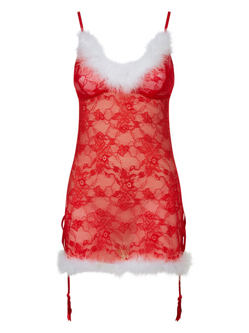 Sexy Miss Santa Chemise image number 2.0