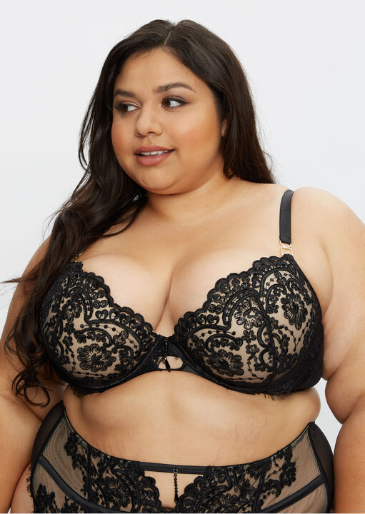 Fiercely Sexy Plunge Bra image number 7.0