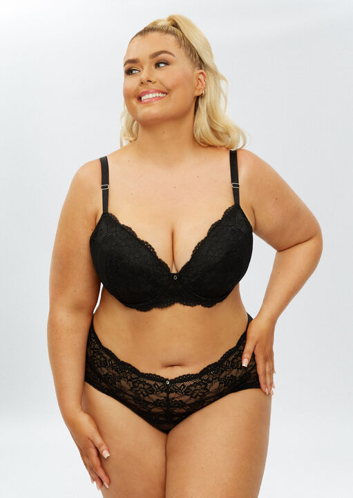 Sexy Lace Sustainable Plunge Bra image number 5.0