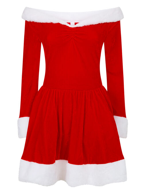 Sexy Miss Santa Dress With Hat image number 7.0