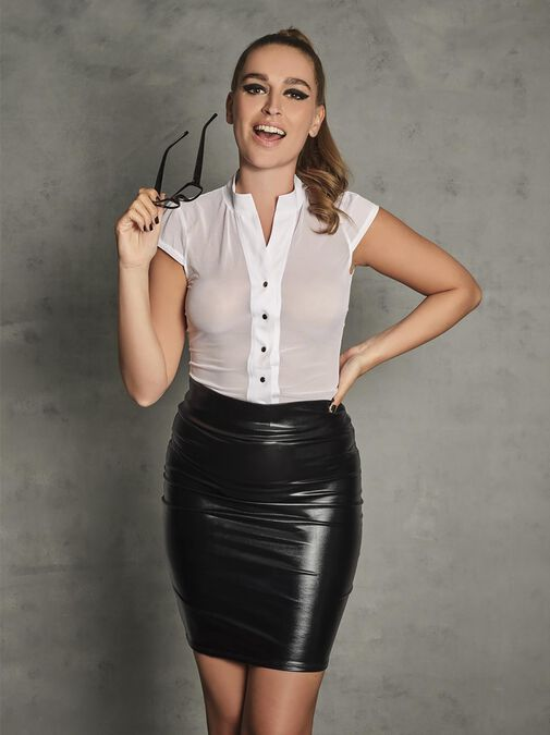 Sexy Secretary Outfit  image number 0.0