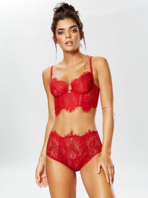 Lipsy Lonnie Non Padded Bra image number 0.0