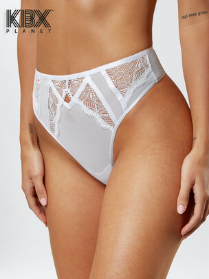 The Admirer High Waisted Thong