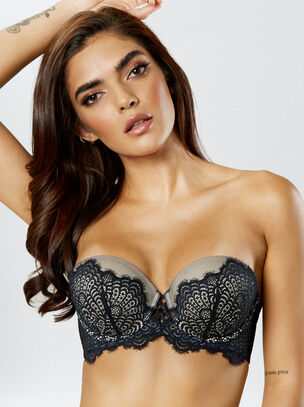 The Multiway Push Up Balcony Bra
