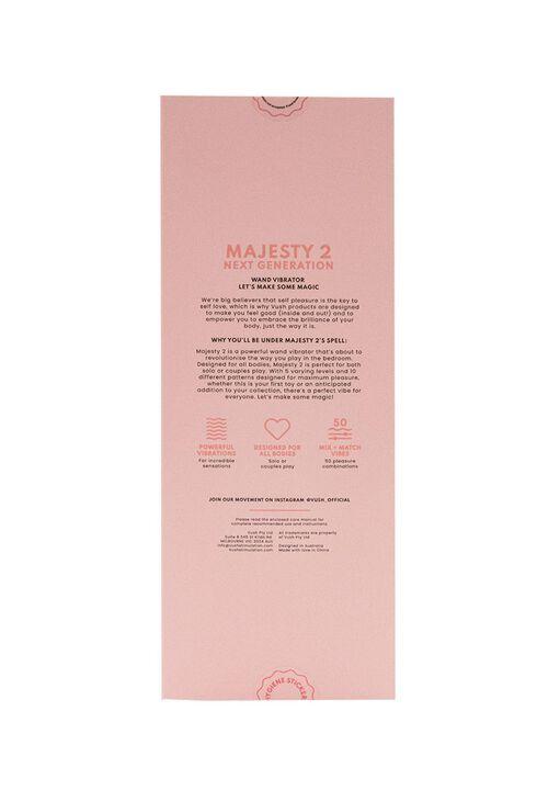 Vush Majesty Wand Vibrator image number 12.0