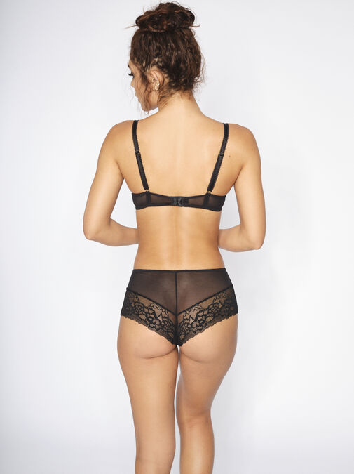 Sexy Lace Crotchless Short image number 3.0