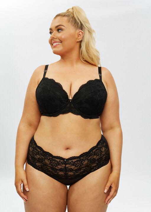 Sexy Lace Sustainable High Waisted Brief image number 2.0