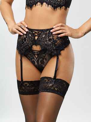 The Fearless Suspender Belt