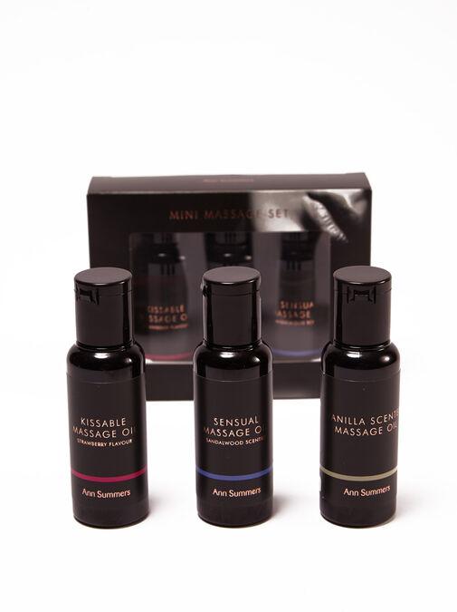 Massage Oil Trio Gift Set image number 0.0