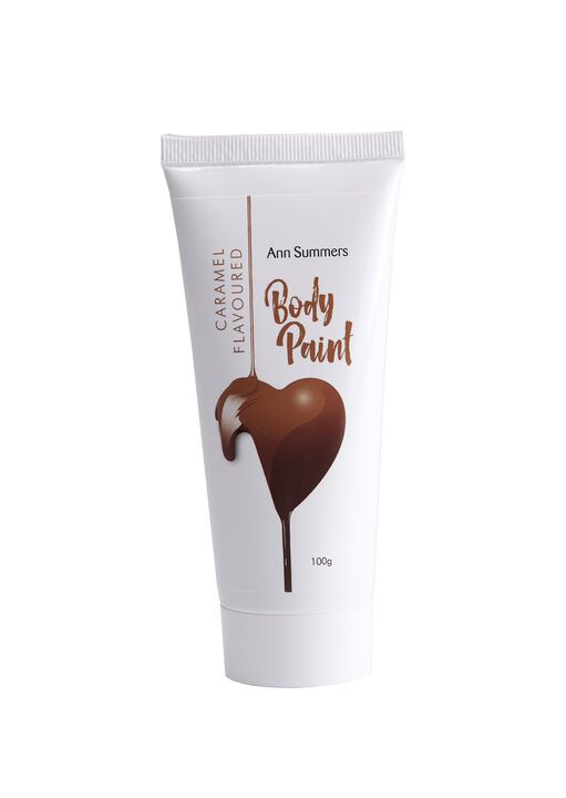 Caramel Flavoured Body Paint 100g image number 0.0