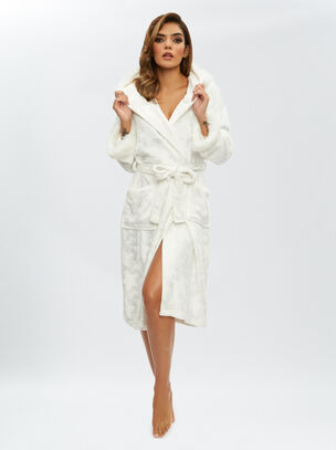 Fluffy Star Robe