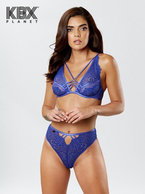 Knickerbox Planet -The Charmer High Waisted Brazilian image number 3.0