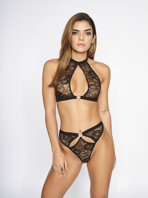 The Cupid Cutie Crotchless Set