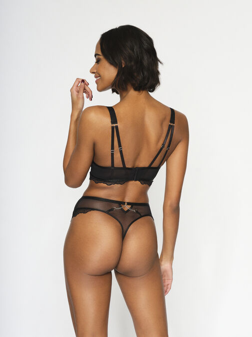 Knickerbox Planet - The Main Attraction High Waisted Thong image number 4.0