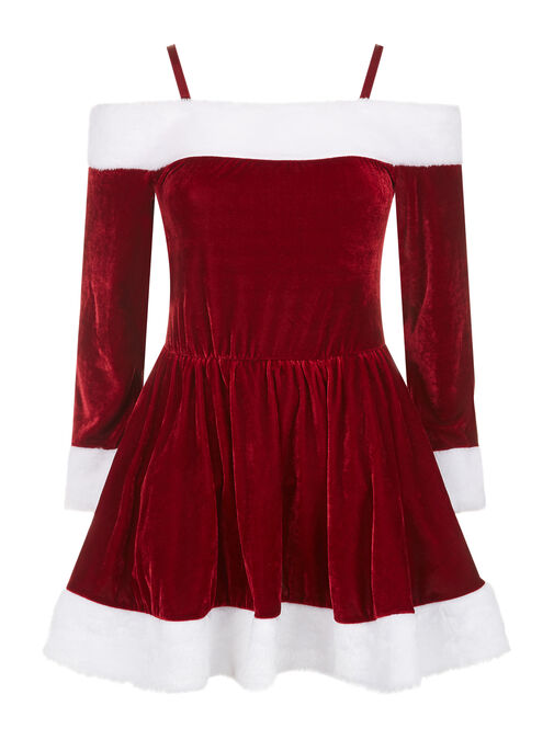Sexy Miss Santa Dress image number 2.0