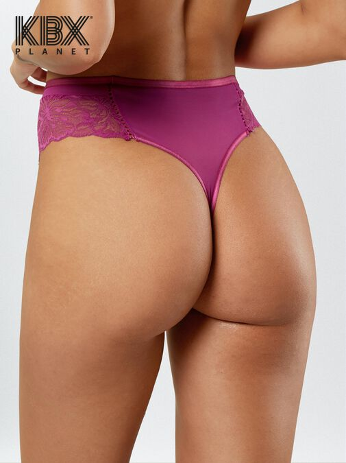 Knickerbox Planet -The Desirable High Waisted Thong image number 1.0
