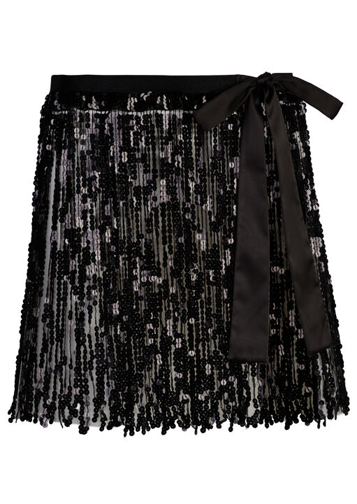 The Dazzling Sequin Skirt image number 4.0